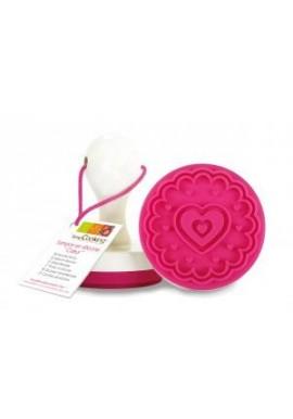 Tampon Biscuit  Coeur Scrapcooking®