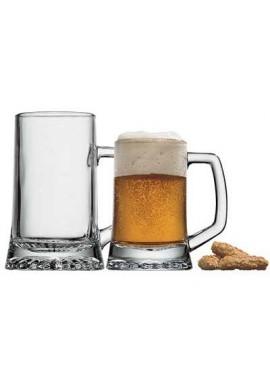 Chope à bière Stern jaugé à 51 cl x6