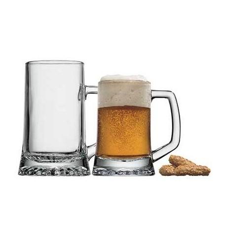 Chope à bière Stern jaugé à 50 cl (x 6)