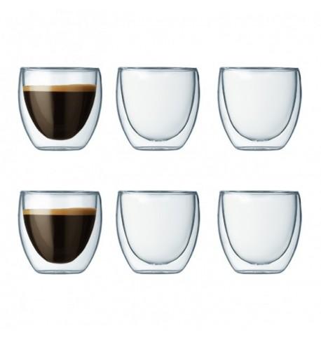 Set de 6 tasses 'pavina' 8 cl