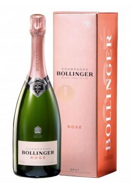 Raw rosé champaign Bollinger