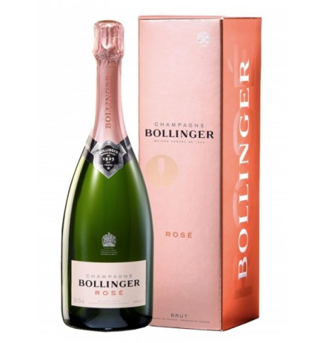 Vintage prestigious Bollinger Pink Champagne