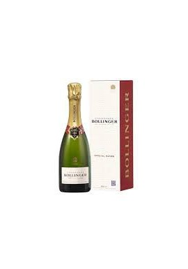 Champagne Cuvée prestige Bollinger demi bouteille