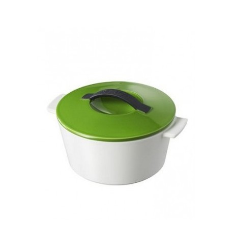 cocotte ronde revolution lime green