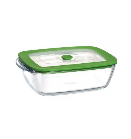 Plat rectangulaire '4in1 plus' 28 x 20 cm pyrex