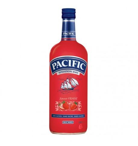 bouteille pacific fraise de ricard 1L