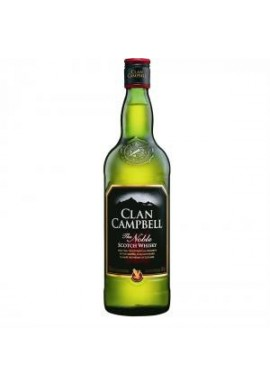 Clan campbell scotch whisky bouteille 1L