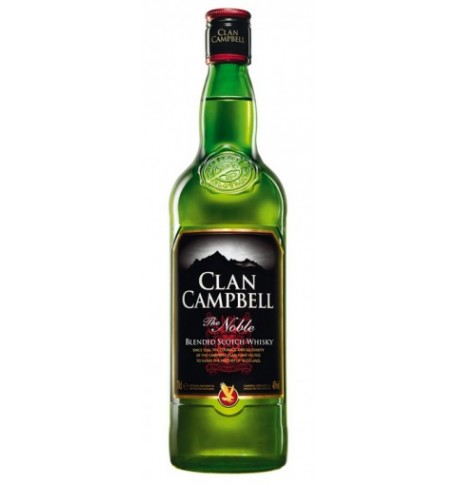 Clan campbell scotch whisky bouteille 0.7L