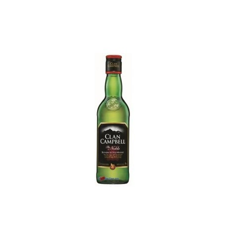 Clan campbell scotch whisky 1/2 bouteille 0.35L