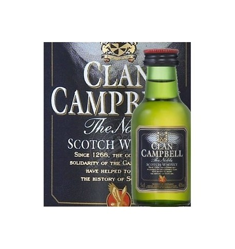 Clan campbell scotch whisky mignonette 0.05L