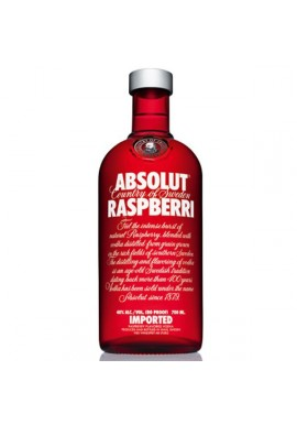 absolut aromatisée raspberri 0.7L