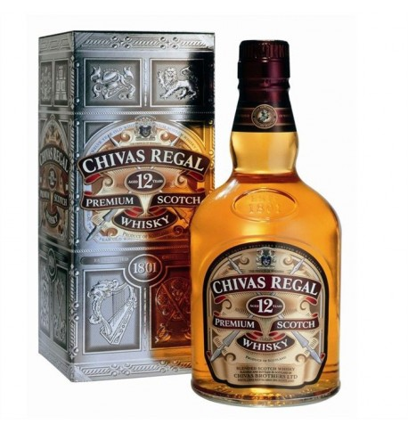chivas regal 12 ans bouteille étui 0.7L