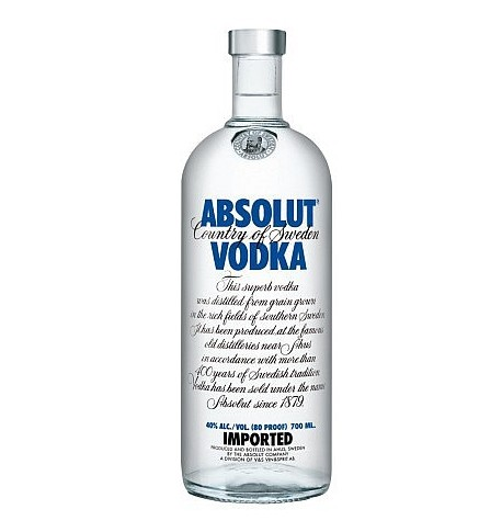 Absolut vodka 0,7L