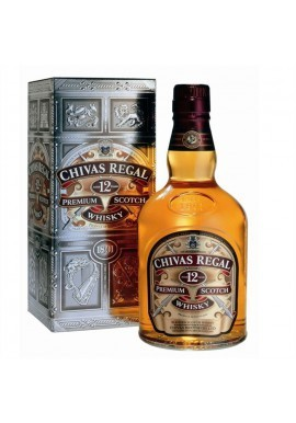 Chivas regal 1/2 bouteille étui 0,35L