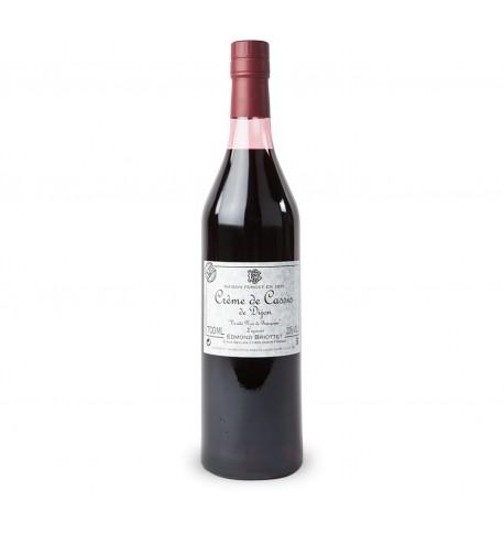 Crème de cassis de Bourgogne Crème de cassis de Bourgogne - EDMOND BRIOTTET 75 CL de Dijon
