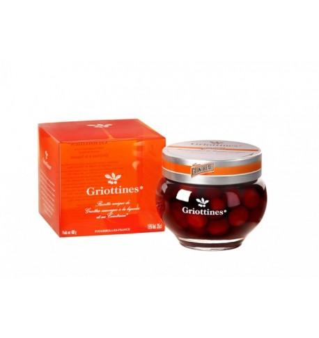 Coffret Griottines Cointreau ® 15%  Peureux - viedechateaux.fr