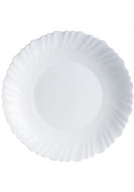 Assiette creuse 'feston' 21 cm luminarc