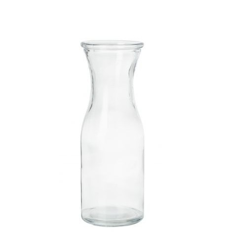 grande bouteille individuelle en verre