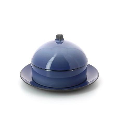 ensemble porcelaine panier cloche et assiette