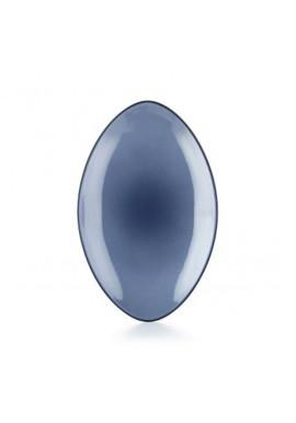 Assiette ovale en céramique