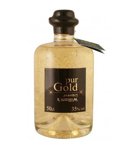 Liqueur fine Pur Gold William's Liqueur Paul devoille