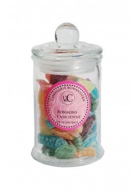 Bonbons à l'Ancienne en bonbonnière de verre - Salade de la mer