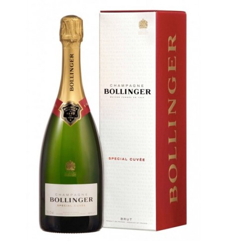 Bollinger spécial cuvée 75cl étui