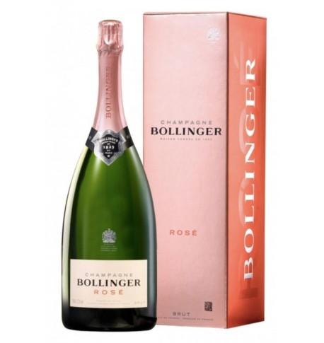 Bollinger rosé 150cl étui
