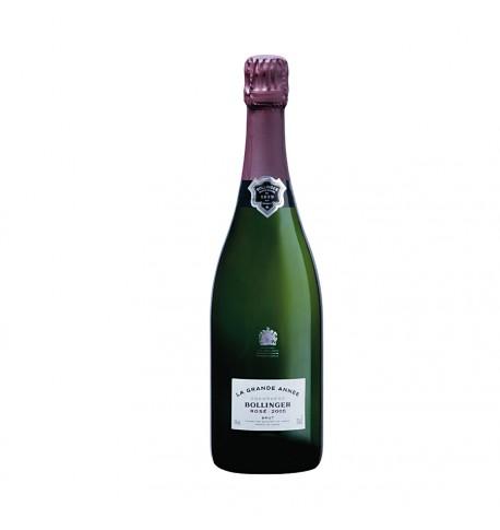 Bollinger la grande année Rosé 75cl 2005 nu