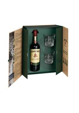 Coffret Jameson Premium 0,7L + 2 verres
