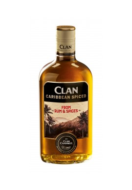 Clan campbell scotch spiced  whisky bouteille 0.7L