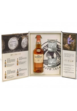 Coffret the glenlivet 12 ans d'âge First fill  0.7L + 2 verres