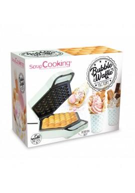 """Atelier à gaufres """"bubble waffle""""  SCRAPCOOKING ®"""