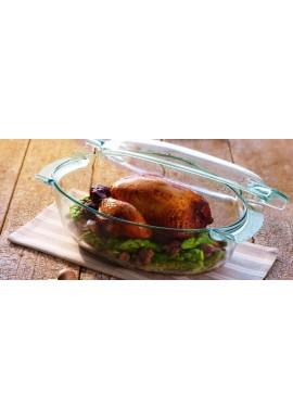 Glass casseroles